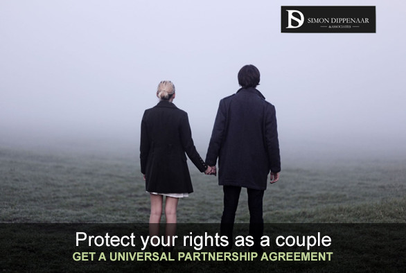 Put a Universal Partnership Agreement in place to protect you and your partner