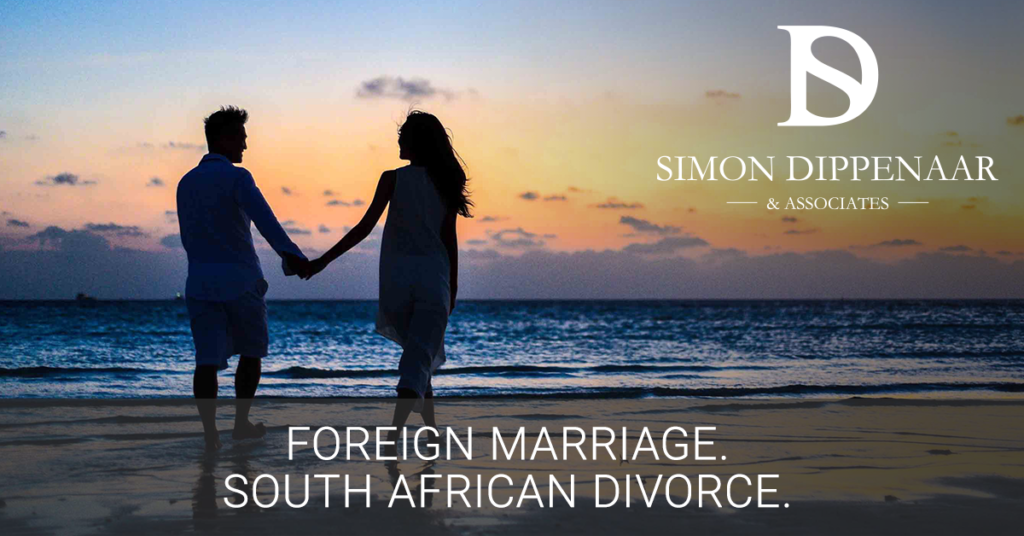 Foreign Divorce in South Africa. Foreign Marriage.