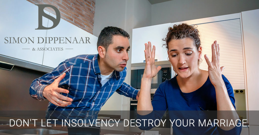 Couples often draw up antenuptial contracts to protect their assets in the event of divorce. No one thinks about insolvency. But your marital regime also affects what happens if one of you becomes insolvent.