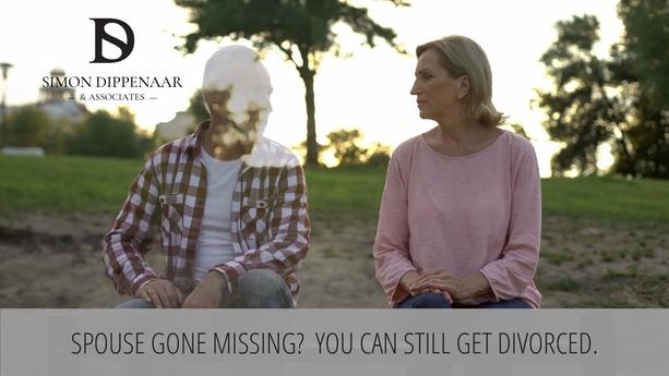 Divorcing a missing spouse - divorce attorney Cape Town