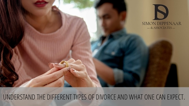3 different types of divorce in South Africa
