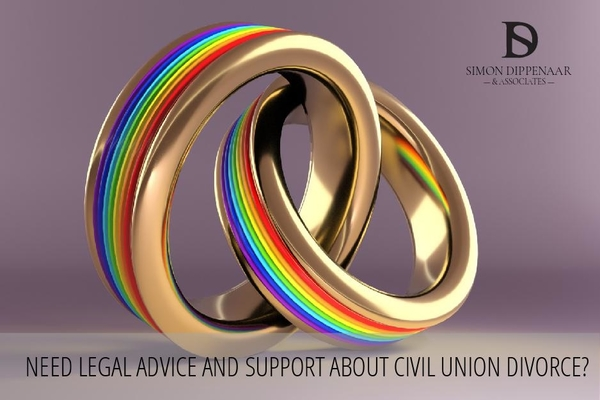 Need legal advice and support about civil union divorce?