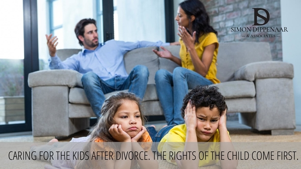 Child care and contact - Divorce attorney Cape Town