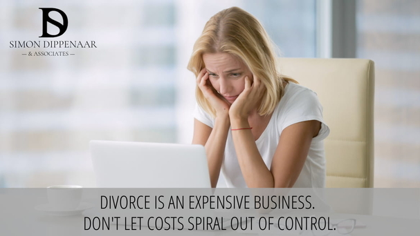 Divorce is an expensive business. Don't let costs spiral out of control.