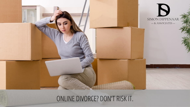 Online divorce? Don't Risk It. Divorce Attorney Family Lawyer