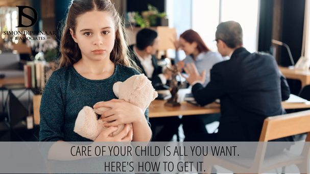 Care of your child is all you want. Here's how to get it. Family attorneys and divorce lawyers