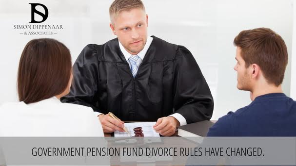 Government pension fund divorce rules have changed