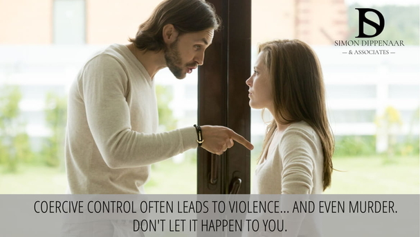Control often leads to violence...and even murder. Don't let it happen to you.