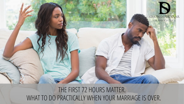 When a marriage ends, changing your email account is the last thing on your mind. It shouldn't be. Six things you need to do in the first 72 hours.
