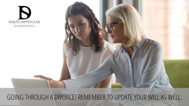 Going through a divorce? Remember to update your will as well.