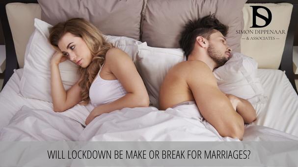 Divorce lockdown