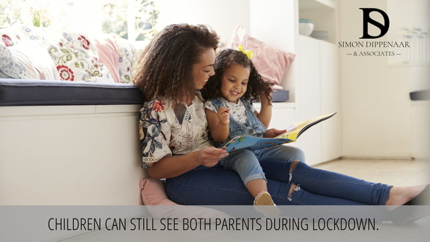 Children can still see both parents during lockdown