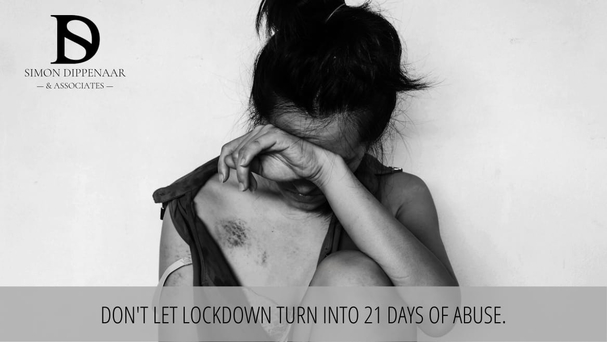 Don't let lockdown turn into 21 days of abuse