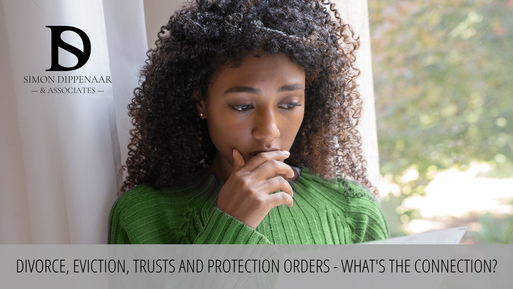 Divorce, eviction and trusts