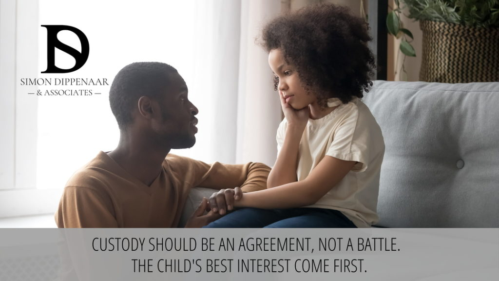 How to win custody of your child in South Africa